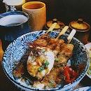 Ah, Beautiful Donburi 😻 Been on a rice kick recently & eating a lil too much rice for my own good 😅 • • • • • •  #sgfood #sgfoodies #burpple #instafood_sg #sgcafe #sgig #igsg #exploresingapore  #bonappetit #vscoedit #agameoftones #thecreatorclass #createcommune  #foodvsco #f52grams #eeeeeats #huffposttaste #onthetable #buzzfeast #forkyeah #getinmybelly  #tastethisnext #eattheworld #foodandwine  #feedyoursoull #eatfamous #tastingtable #bestfoodworld #beautifulcuisines #dailyfoodfeed