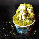 I deserve Green Tea Mountain Ice Cream on a holiday! 🍦 ($4.50)