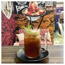 Wild Mint Tea 🍃 Tasted like spearmint and I loved it!