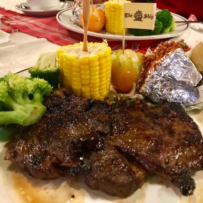 Charbroiled Rib Eye Steak