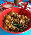 Meatball Ban Mian Dry ($5)