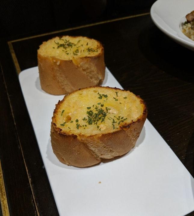 Garlic Pane ($7++)