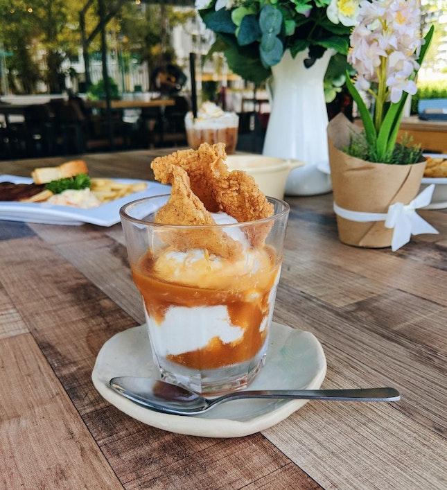Y4 Fried Chicken Caramel ($5.90) 👍🏻