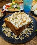 Honey butter toast ($11.50)