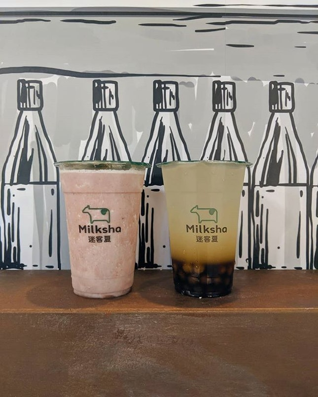 """Milksha 🥛🐄 [New Outlet]Known as """"Milkshop"""" in Taiwan and voted number 1🥇 by Taiwan's University Students!"""