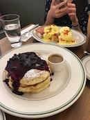 Blueberries Pancake