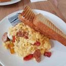 Cajun Scrambled Eggs ($17++)