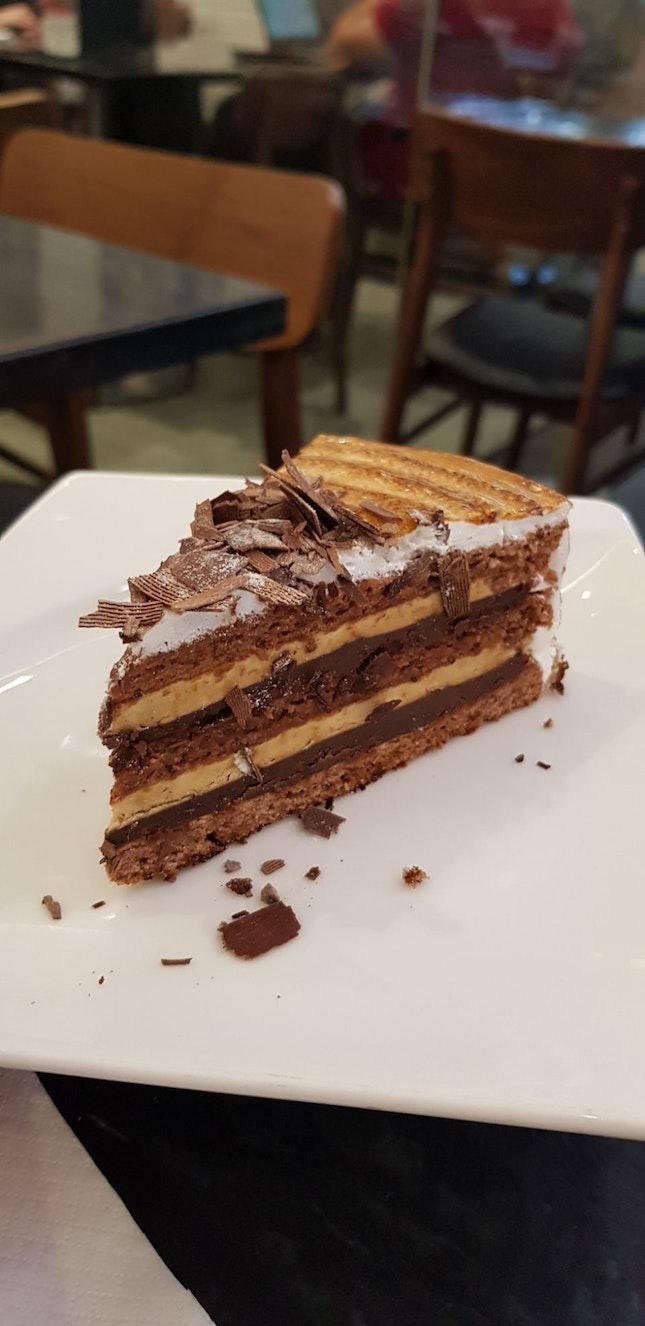 Hazelnut Mocha Cake $9.50