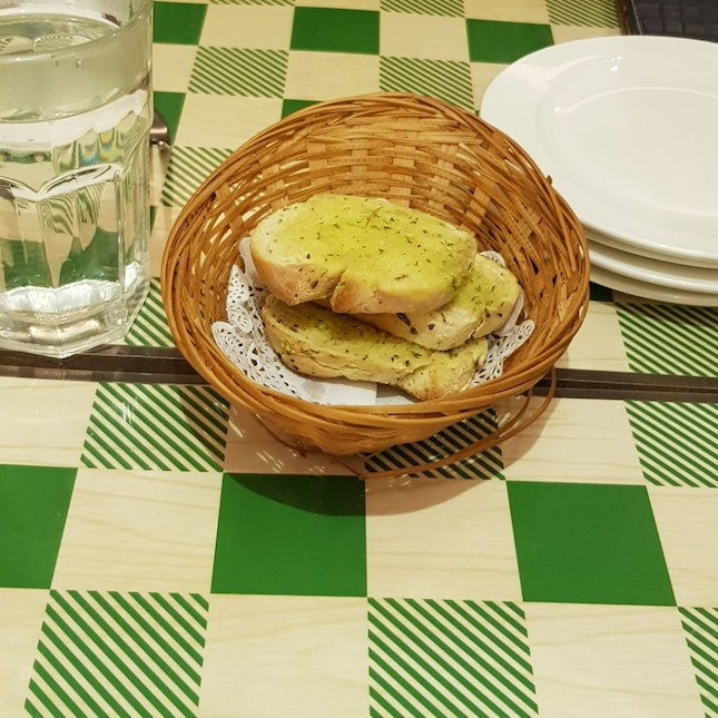 Garlic Bread (Complementary with Meal)