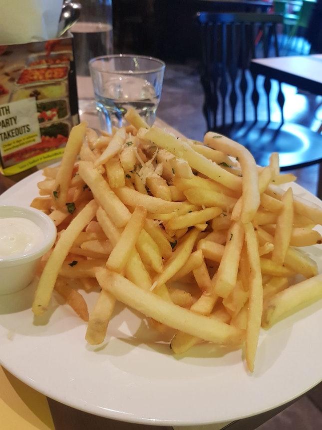 Parmesan Truffle Fries $12