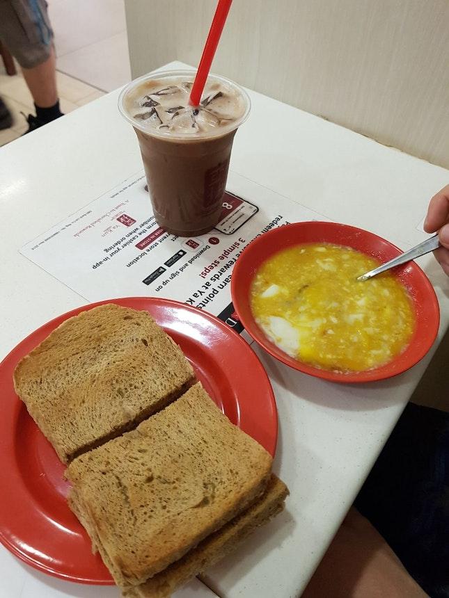 Kaya Toast Set ($5.80)