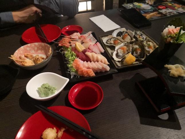 Sashimi, Oyster Very Fresh!!