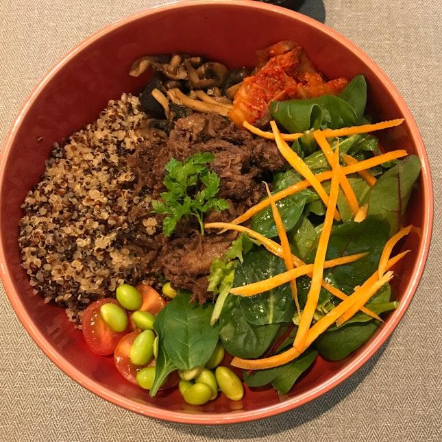 Beef Bulgogi & Quinoa Salad