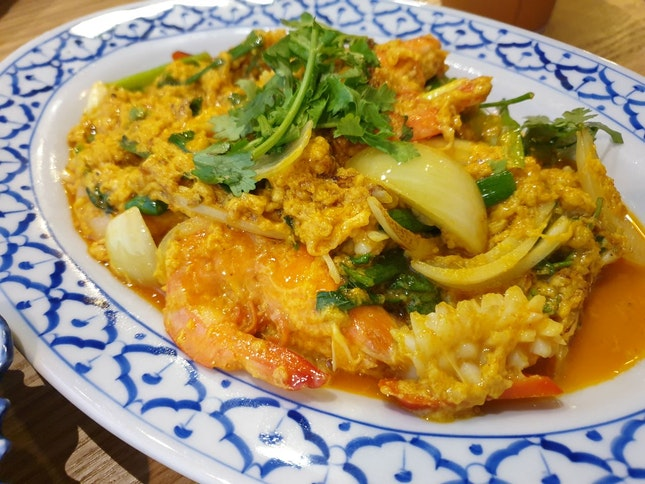 Yellow Curry Seafood