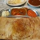 Egg masala Thosai and Cheese Prata