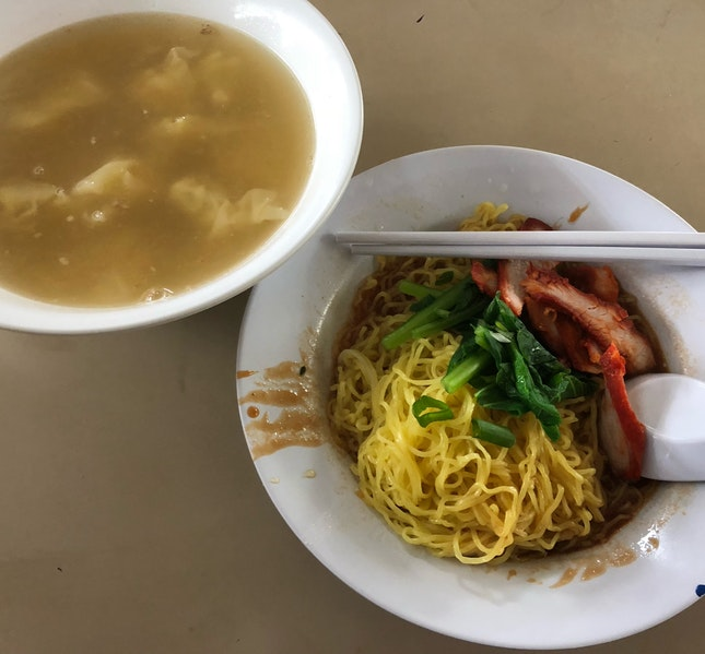 Cheap And Good Wanton Noodle