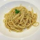 cheap and good aglio olio.