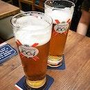 Cheers 🍺🍺🍺 #annsum #annclar #fivetapasbar #cuppageterrace #kronenbourgsg