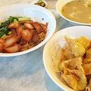 Wanton mee:D 😘😋😋😋👍🏼🍜 #melfclar #liangswantonnoodles #thebedokmarketplace #simpangbedok #wanton #wantonnoodles #comfortfood #goodfood