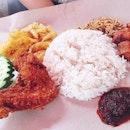 Nasi lemak 😋😋 #melfclar #dinner #nasilemak #ponggolnasilemak
