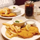Fish n chips 👍🏼 #swensenssingapore #changiyummy