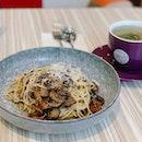 Truffle mushroom pasta ❤️