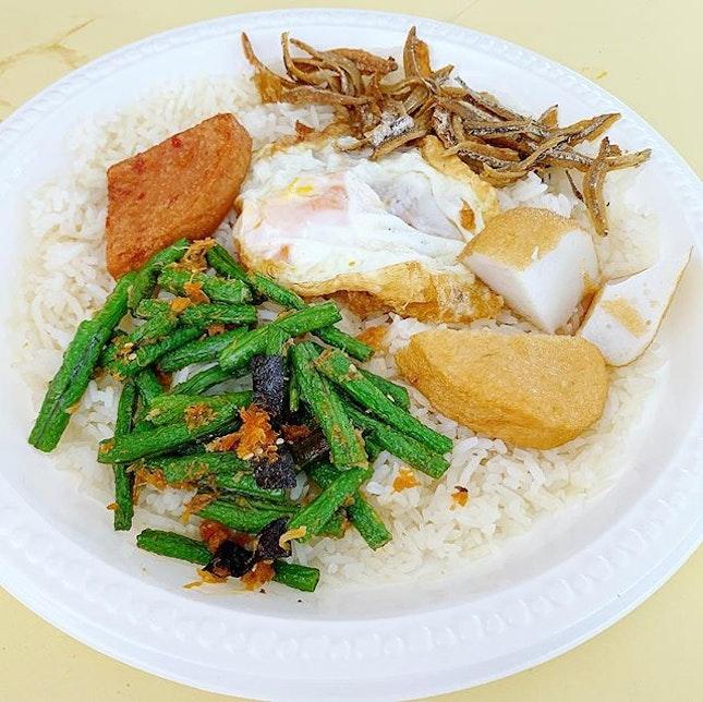红泥 nasi lemak ❤️ #nasilemak #honnikitchen #sgeastsiders #Bedok