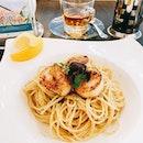 ❤️ yummy  #dtccsg #veryengmetime #aglioolio #pasta