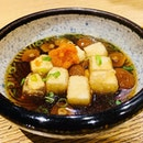 Sunday = Agedashi tofu + Ramen  #sanpouteiramen