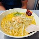 Not my kind of food 😆his Katong laksa 🍜  #katonglaksa