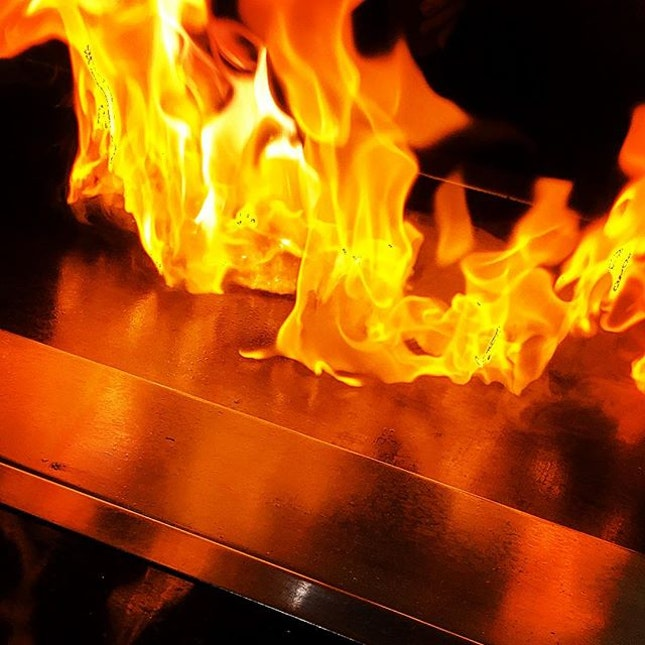 Teppanyaki is always a good idea.