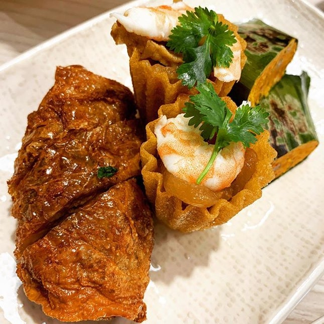 Modern Peranakan - one of the newest offerings from the Les Amis Group.