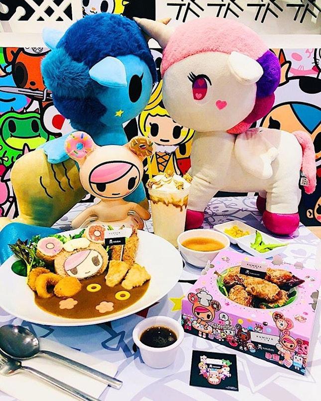 // Last few days to visit World's 1st Tokidoki Pop-Up Cafe at Kumoya Cafe.