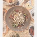 Buckwheat Noodle, shiitake mushrooms, sesame seeds and broccoli!