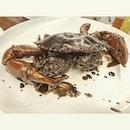 Signature Singaporean Black Pepper Crab!