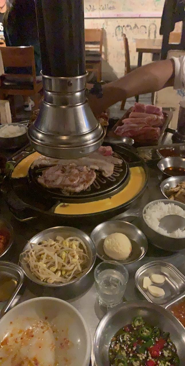 First Timer At A Korean BBQ