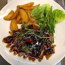Teriyaki Grilled Chicken Chop with Sides from Frank Western Food for lunch #ieatishootipost#hungrygowhere#instafood#foodporn#iweeklyfood#yummy#instagram#theteddybearman#eatoutsg#whati8today#yummy#eatoutsg#food#igfoodie#eatingout#eatstagram#sgfood#foodie#foodstagram#SingaporeInsiders#sgfoodie#sgfoodies#burpple#eatbooksg#burrplesg#chickenchop