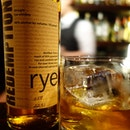 Old Fashioned with Redemption Rye #Whiskey.