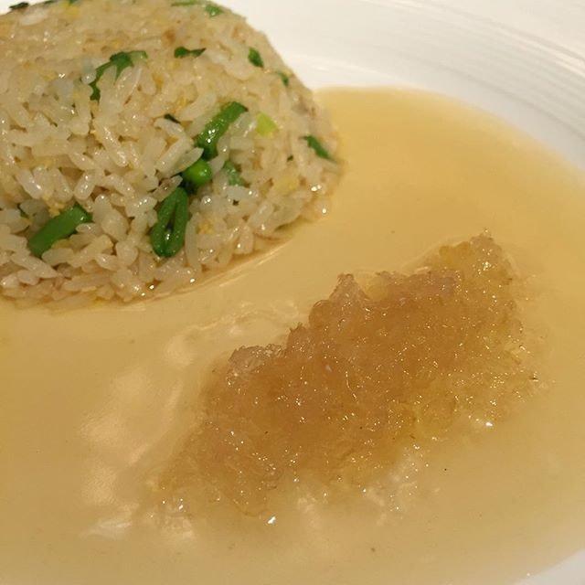 Braised Ginger Rice with Bird's  Nest.
