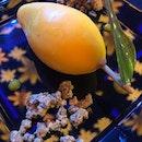 Mango | lychee | passion fruit .