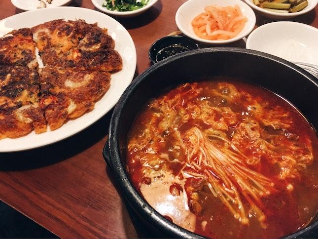 Cheap And Good Korean Lunch