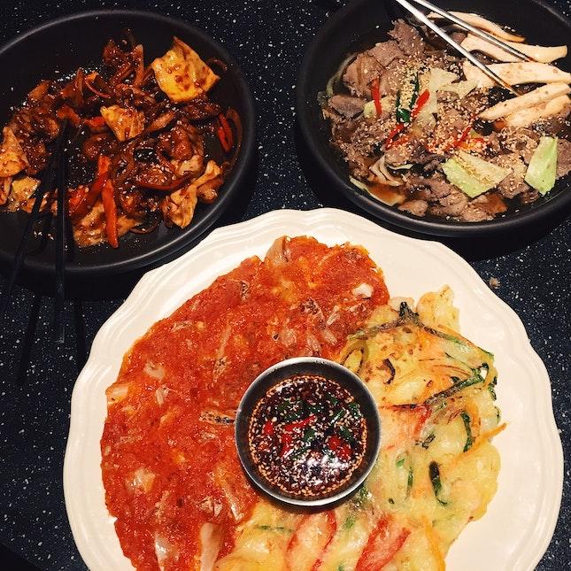 Authentic Korean Food + Soju
