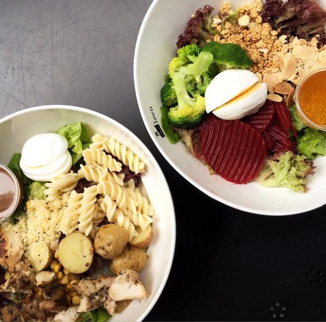 Value-for-money Salads