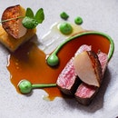 Loin of lamb, parsley anchovy emulsion, baby turnip.