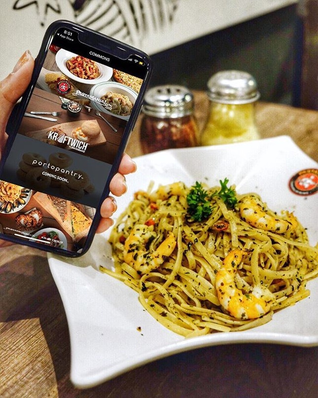 Take the Pasta-nality quiz (link in bio) to get $3 off your pasta via order through the COMMONS SG App!