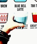 Ever heard of Blue Bell Latte?
