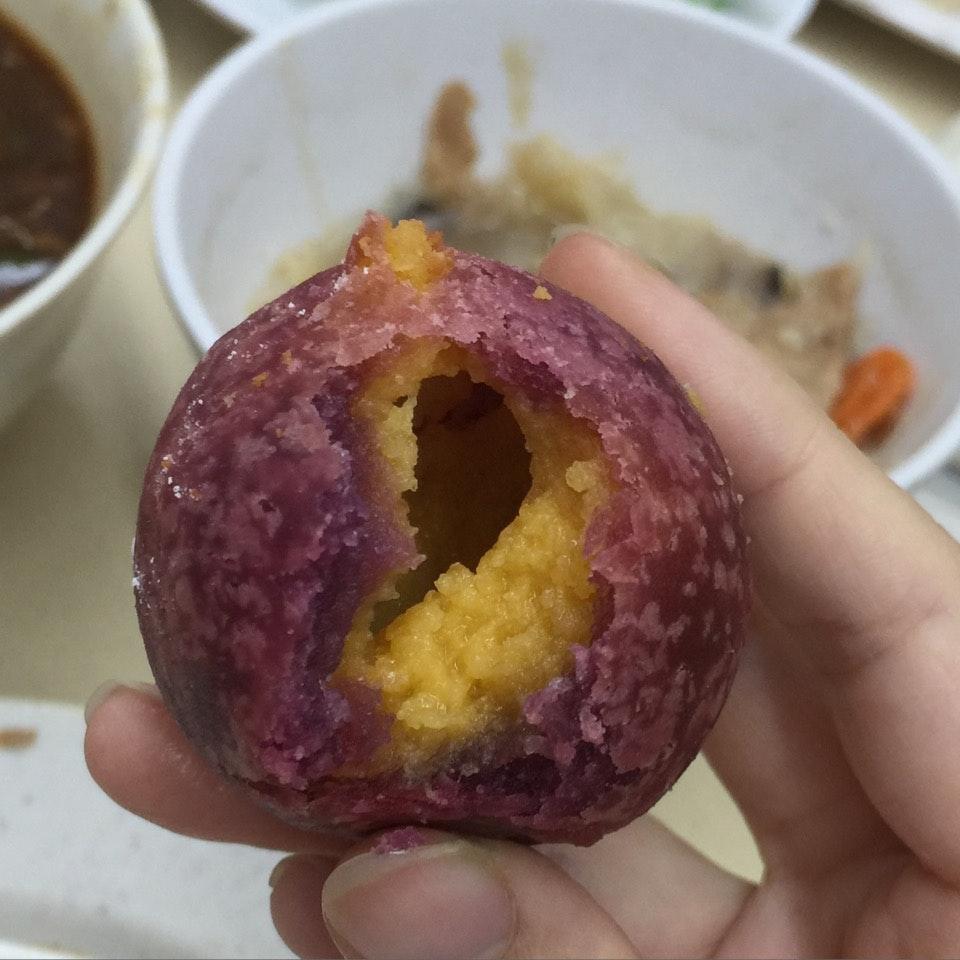 Sweet Potato Salted Egg Ball