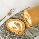 Chestnut Roll Cake [S$17.00] ・ How's everyone's Black Friday coming along?