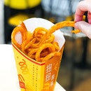 Twister Fries [S$3.70] ・ Managed to get some @McdSG Twister Fries before it was gone.