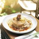 Earl Grey Pancakes [S$16.00] ・ Missing some soft fluffy earl grey pancakes from @Punch.Gram ・ #Burpple #FoodieGohClarkeQuay ・ ・ ・ ・ #instadailyphoto #photooftheday #followme #follow #tslmakan #food #foodstagram #foodgasm #sgfoodies #sgfoodie #foodsg #singaporefood #whati8today #sgfoodporn #eatoutsg #8dayseat #singaporeinsiders #singaporeeats #sgfoodtrend #sgigfoodie #thisisinsiderfood #foodinsingapore #foodinsing #pancakes #earlgrey #dessert